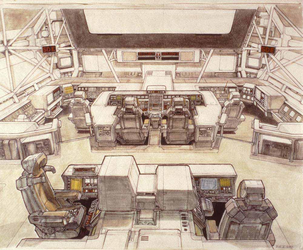Умер Рон Кобб — художник-постановщик и дизайнер «Чужого», «Звёздных войн» и «Назад в будущее» 6