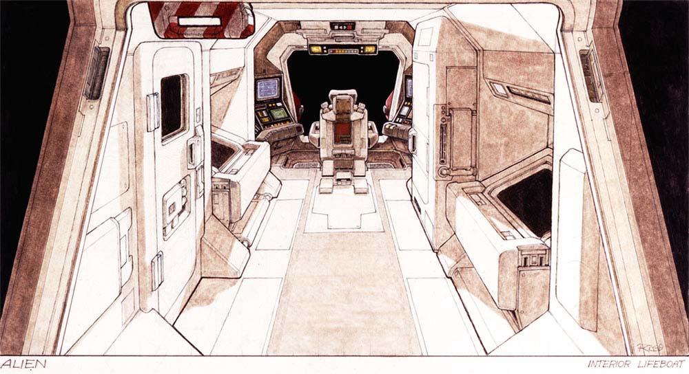 Умер Рон Кобб — художник-постановщик и дизайнер «Чужого», «Звёздных войн» и «Назад в будущее» 7