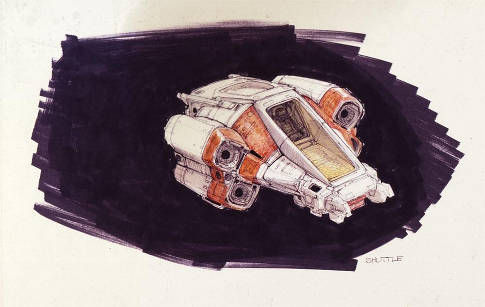 Умер Рон Кобб — художник-постановщик и дизайнер «Чужого», «Звёздных войн» и «Назад в будущее» 10