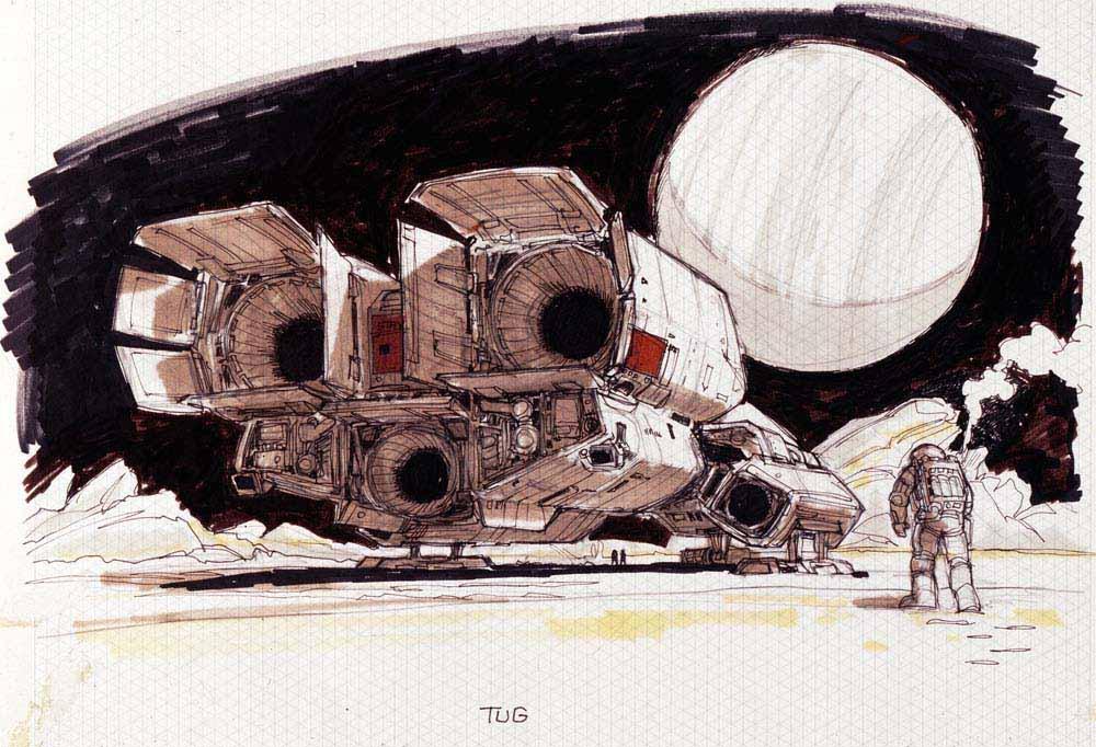 Умер Рон Кобб — художник-постановщик и дизайнер «Чужого», «Звёздных войн» и «Назад в будущее» 8