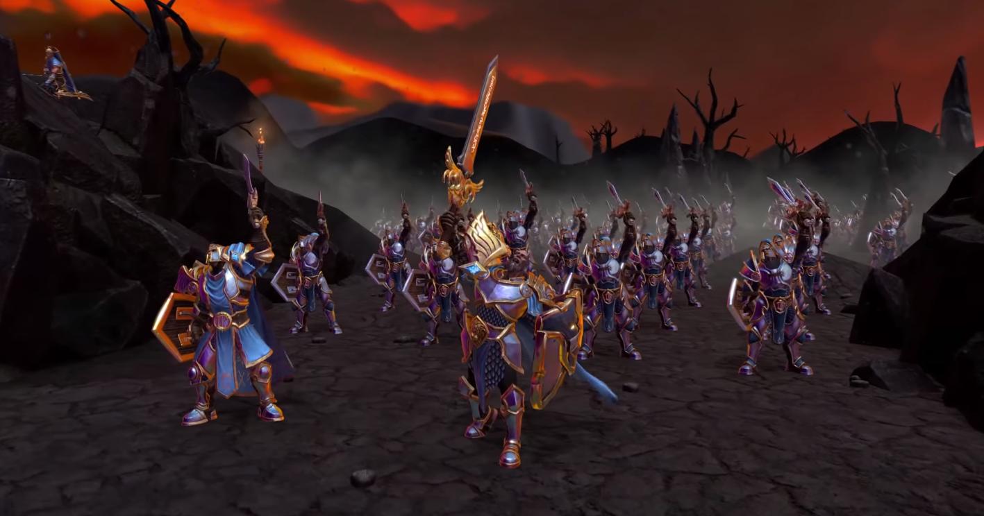 Трейлер фанатского ремейка Warcraft II — уже сейчас можно пройти 4 миссии