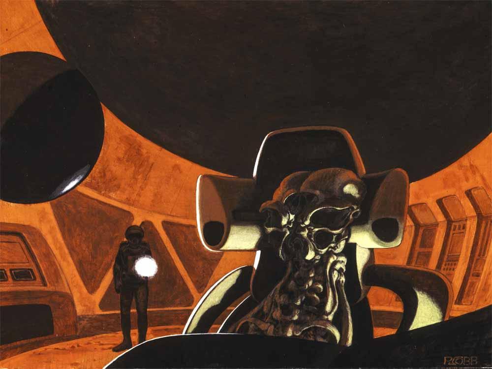 Умер Рон Кобб — художник-постановщик и дизайнер «Чужого», «Звёздных войн» и «Назад в будущее» 9