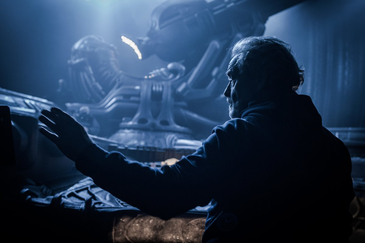 Ридли Скотт подтвердил, что вработе находится фильм по«Чужому»