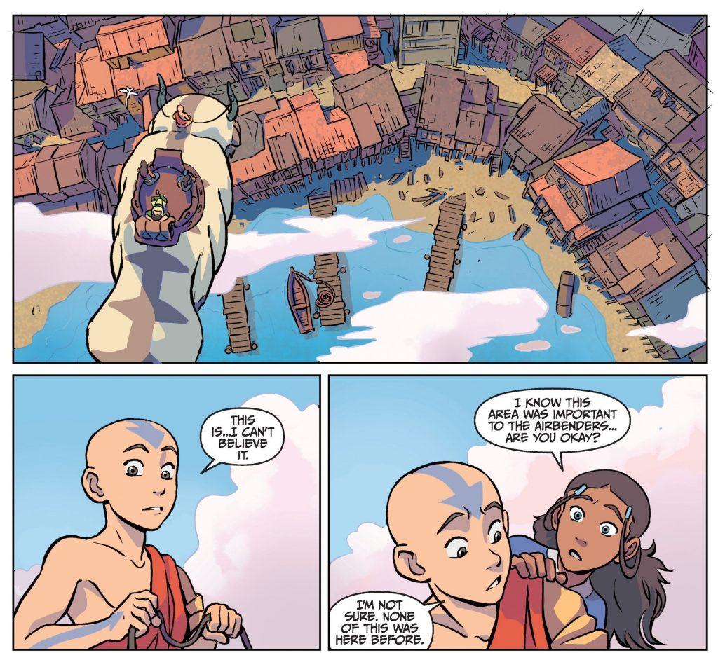 Как вселенная Аанга продолжает жить в комиксах и книгах 3
