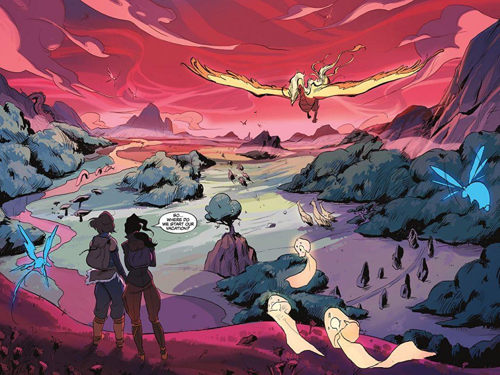 Как вселенная Аанга продолжает жить в комиксах и книгах 5