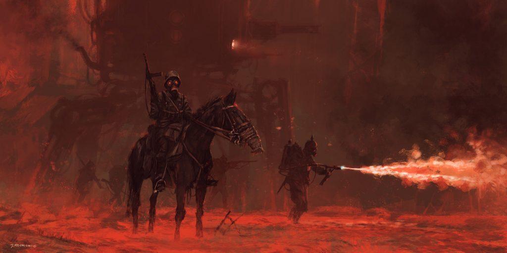 Боевые роботы царя и коммунистов: мир игр Iron Harvest 1920+ и «Серп» 5