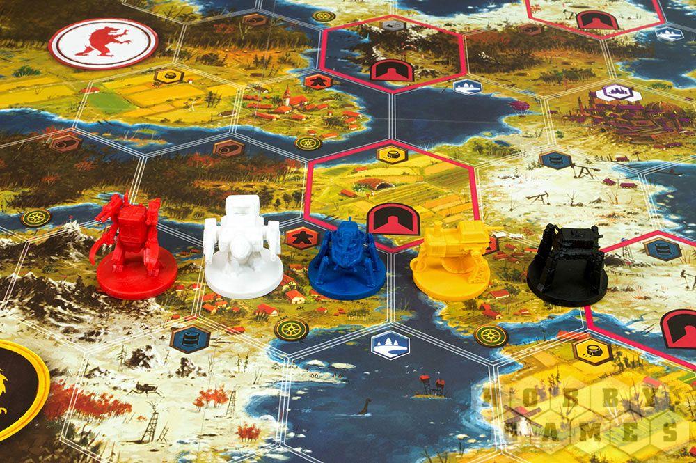 Боевые роботы царя и коммунистов: мир игр Iron Harvest 1920+ и «Серп» 6