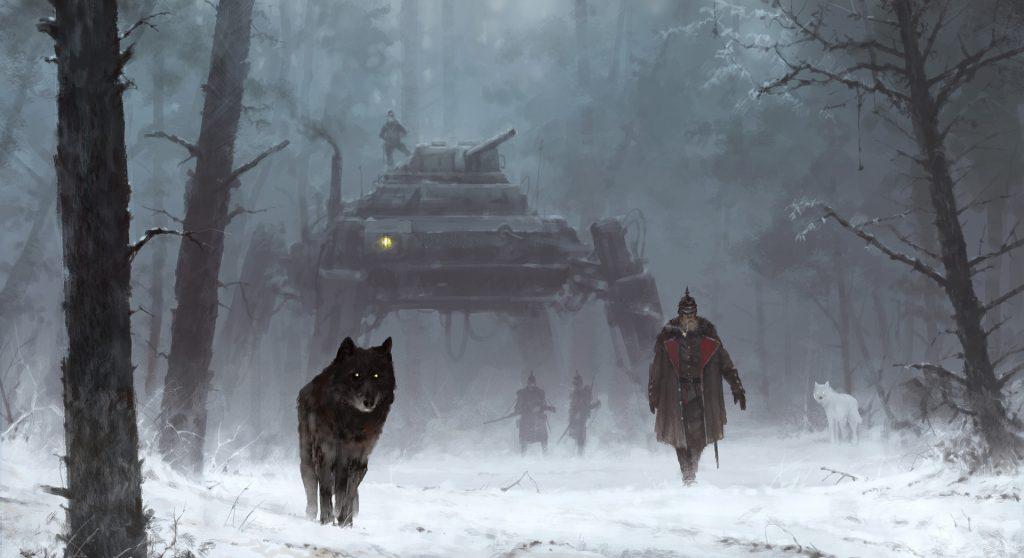 Боевые роботы царя и коммунистов: мир игр Iron Harvest 1920+ и «Серп» 7