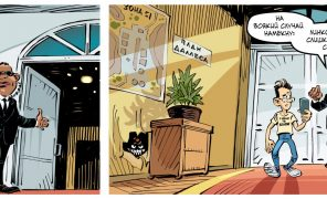 Комикс: Земля плоская, а власти скрывают!