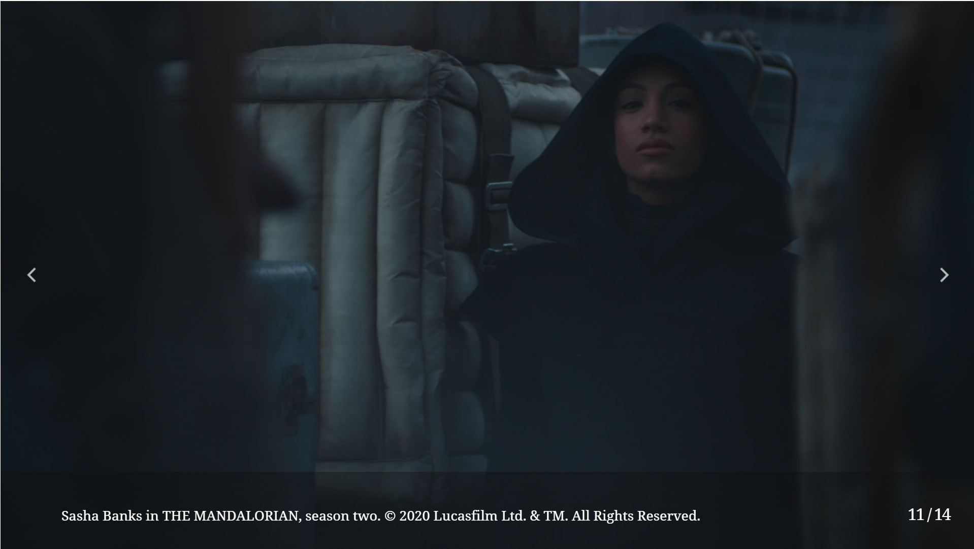 «Мандалорец»: девушку вкапюшоне сыграла актриса и рэстлер Саша Бэнкс