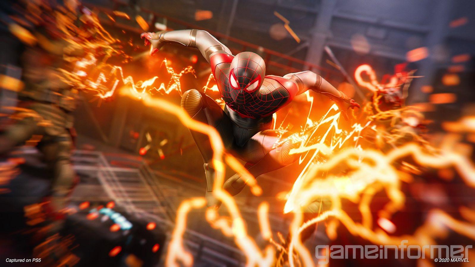Битва с Носорогом, новые скриншоты и детали Spider-Man: Miles Morales 1