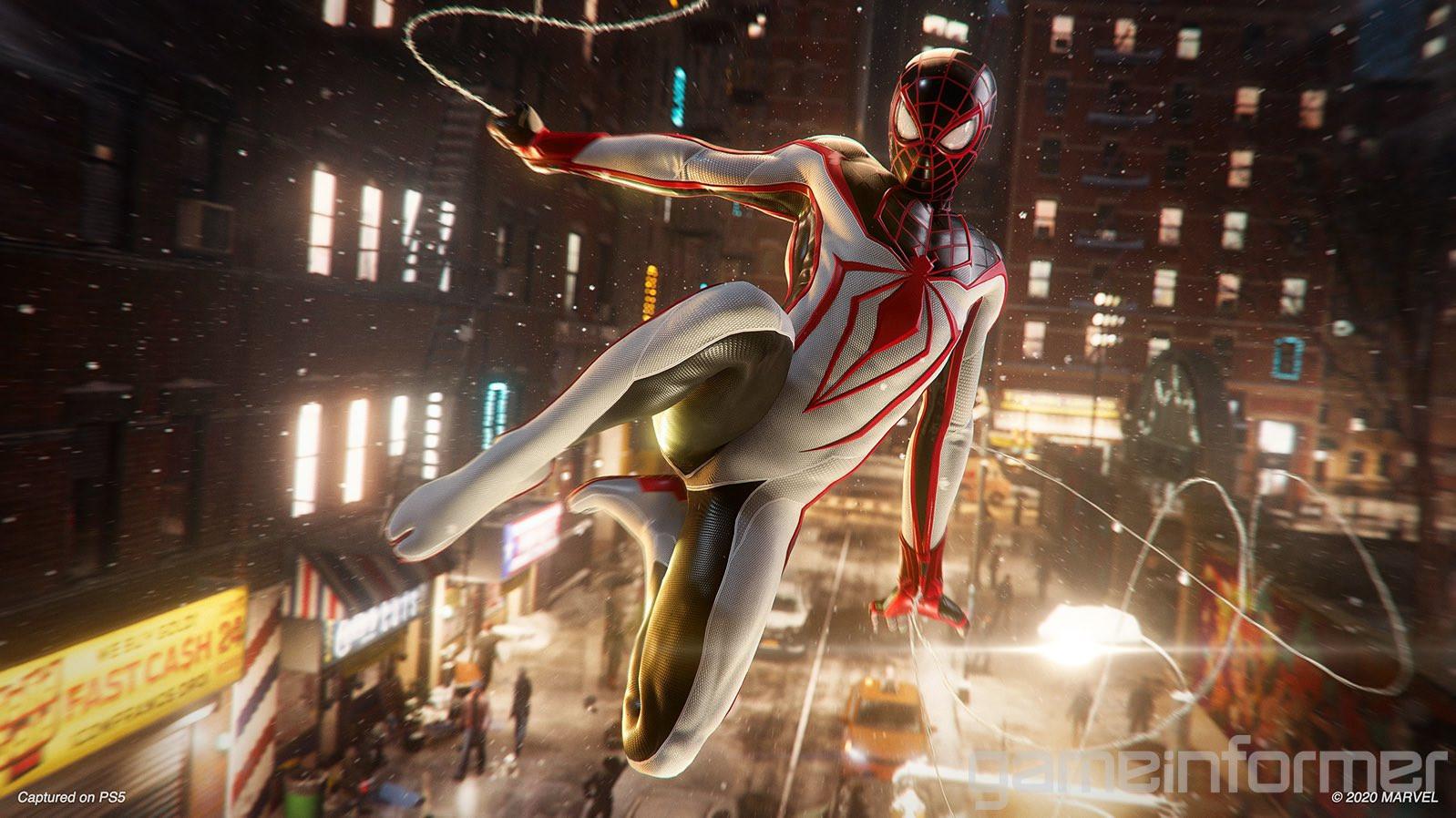 Битва с Носорогом, новые скриншоты и детали Spider-Man: Miles Morales 7