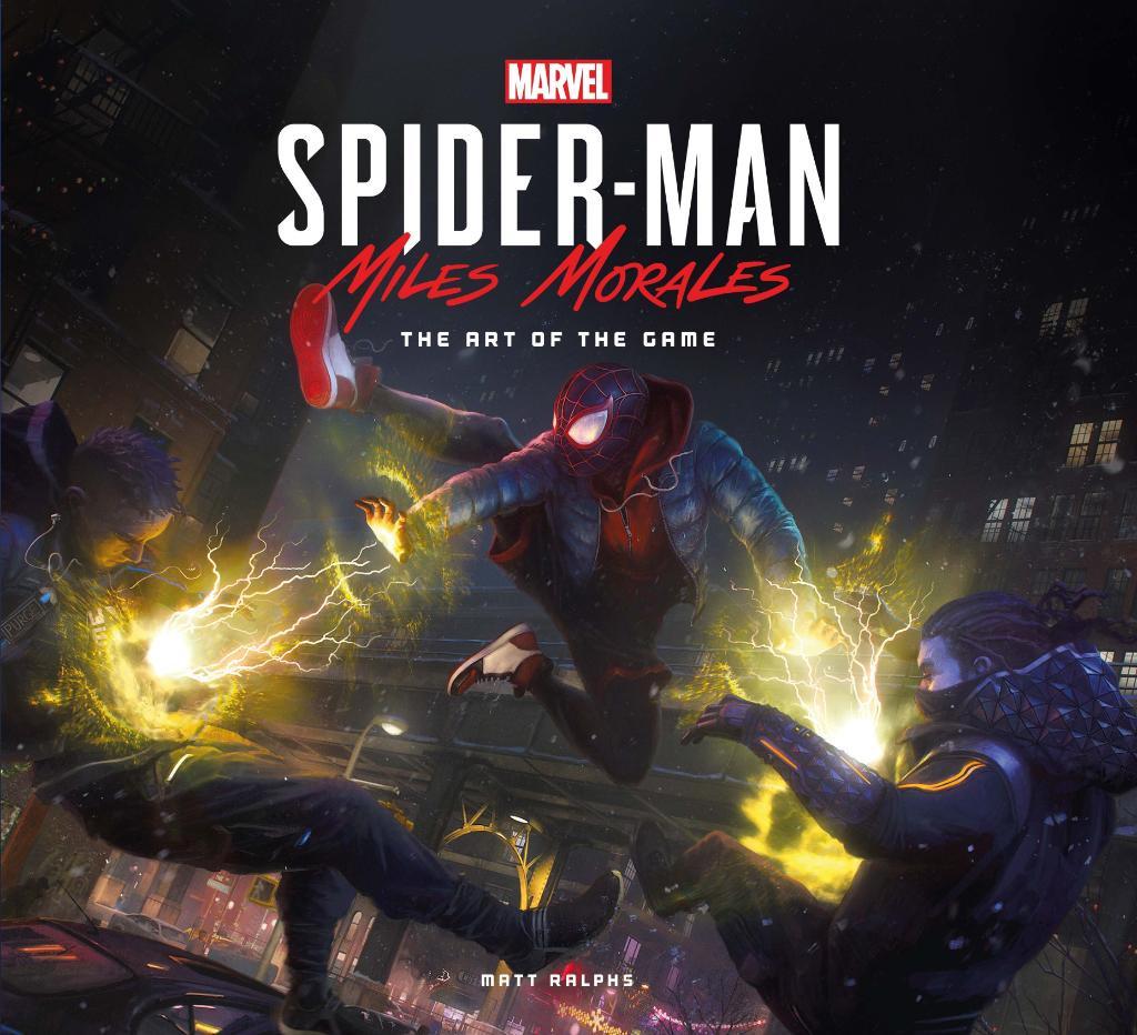 Перед выходом Spider-Man: Miles Morales выйдет роман-приквел, а после — артбук 1