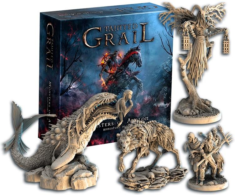 «Осквернённый Грааль». Обзор настольной игры о мрачном короле Артуре 15