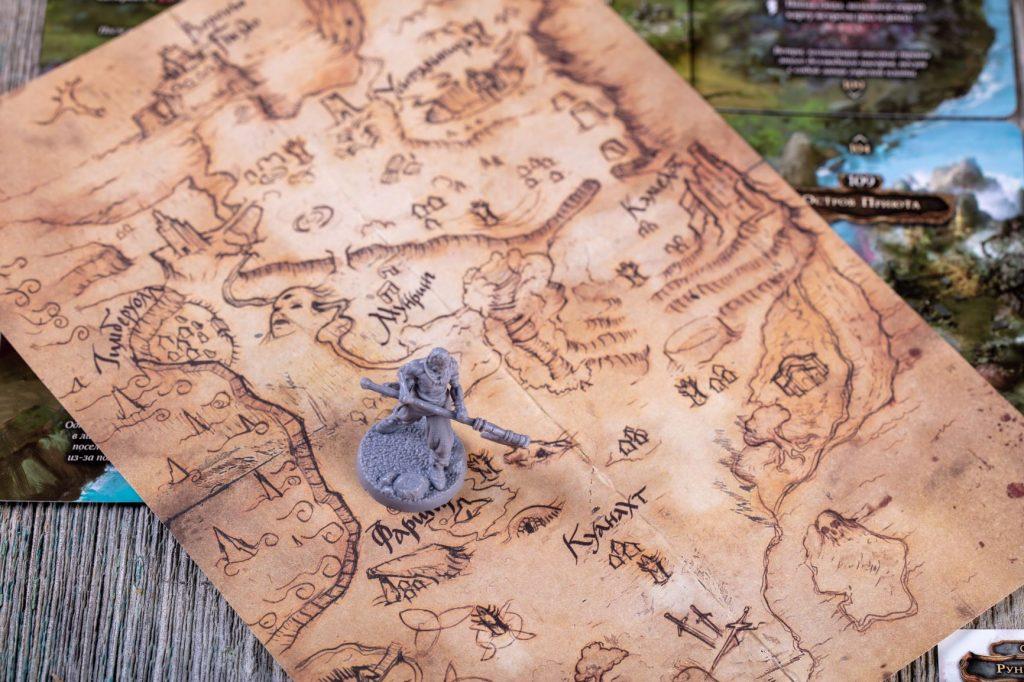«Осквернённый Грааль». Обзор настольной игры о мрачном короле Артуре 19