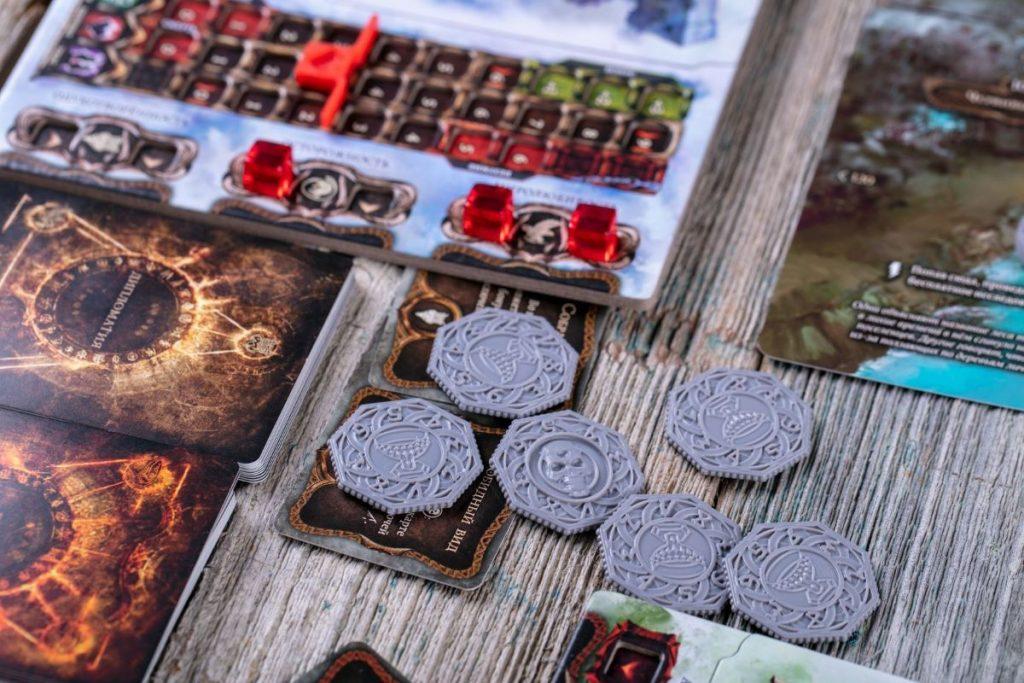 «Осквернённый Грааль». Обзор настольной игры о мрачном короле Артуре 9