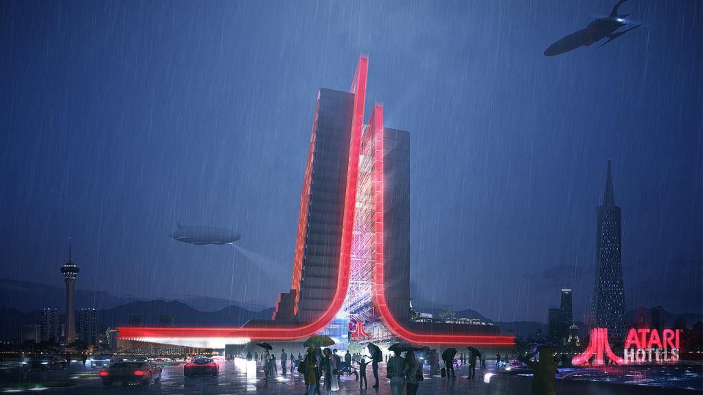 Atari построит футуристический отель для геймеров 2