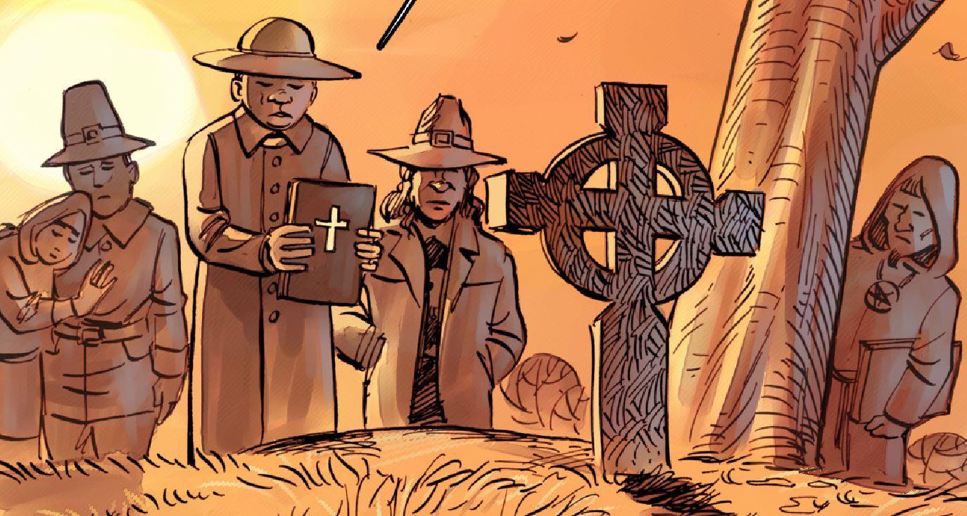 Комикс: некромант 3