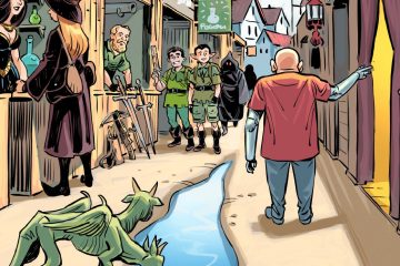 Комикс: Прогресс в фэнтези-технологиях