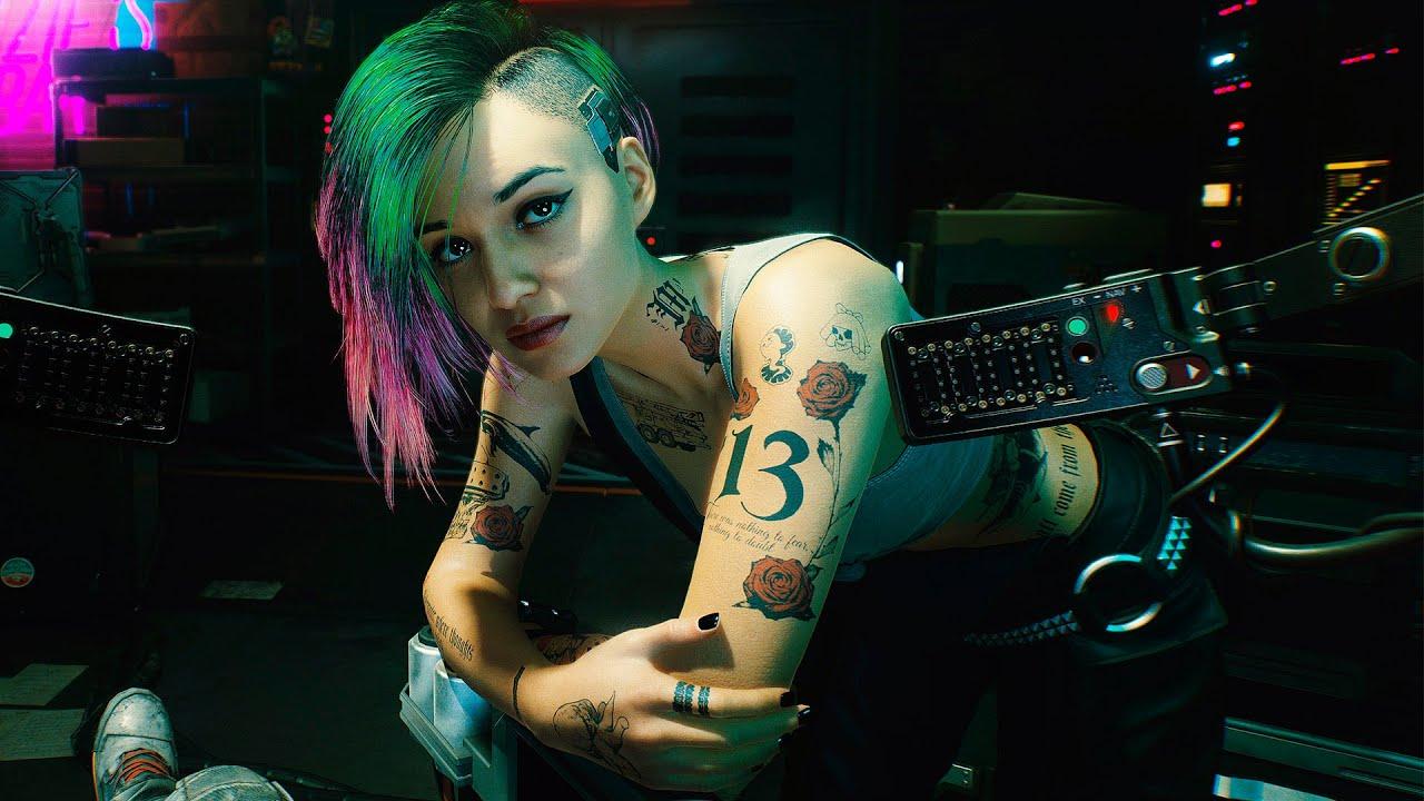 ТВ-спот Cyberpunk 2077 с Киану Ривзом и песней Билли Айлиш