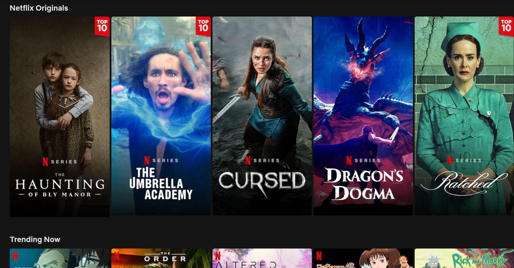 Netflix приостановил бесплатный пробный период