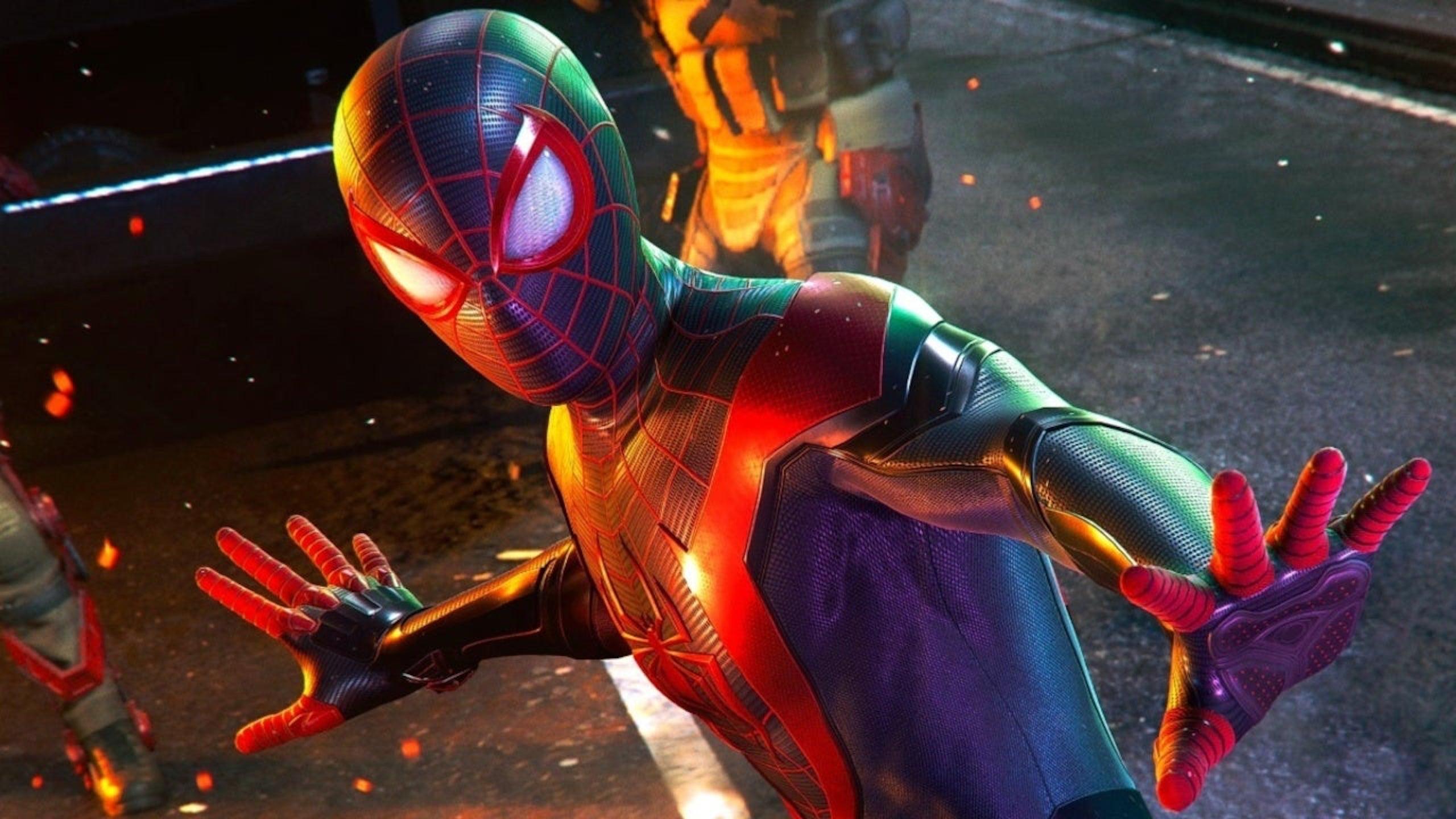Битва с Носорогом, новые скриншоты и детали Spider-Man: Miles Morales 9