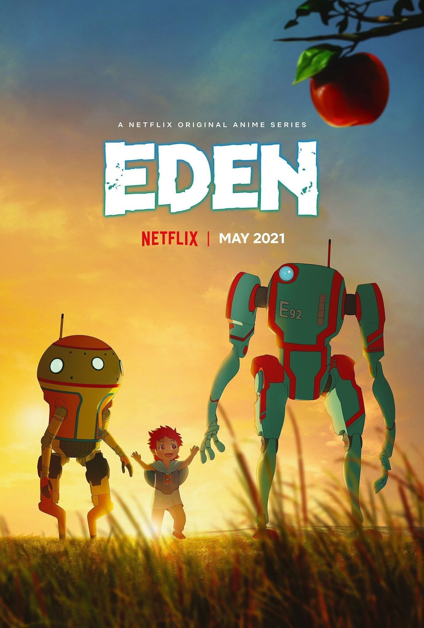 Аниме-сериал Eden от режиссёра «Стального алхимика» выйдет вмае 2021-го 1