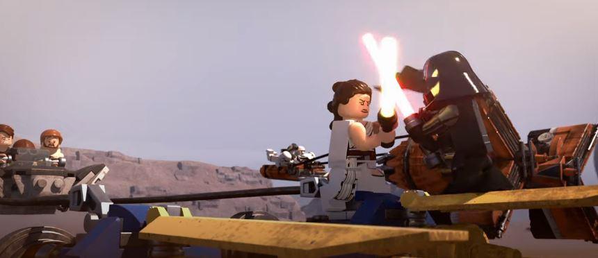«Хочешь выстрелить первым?»: первый трейлер LEGO-спешла по«Звёздным войнам»