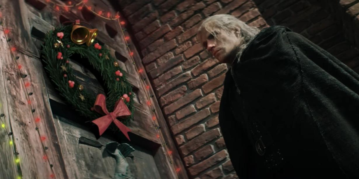 Netflix задал «Ведьмаку» рождественское настроение