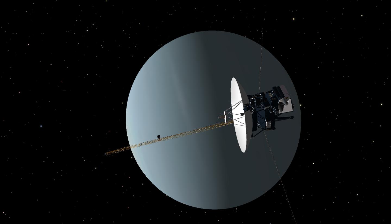 Аппарат «Вояджер-2», покинувший гелиосферу, ответил NASA