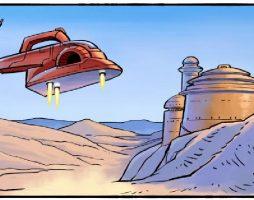 Комикс: первый промах Бобы Фетта