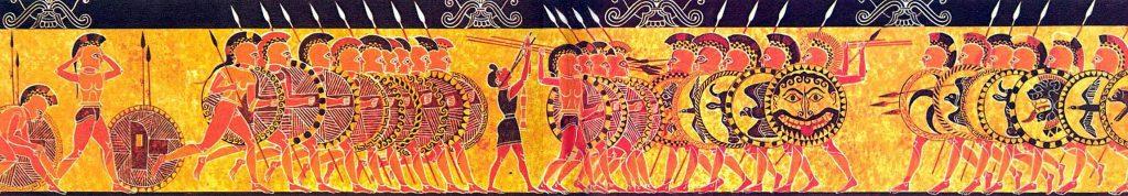 Фаланга, манипула, хирд. Как держали строй древние воины
