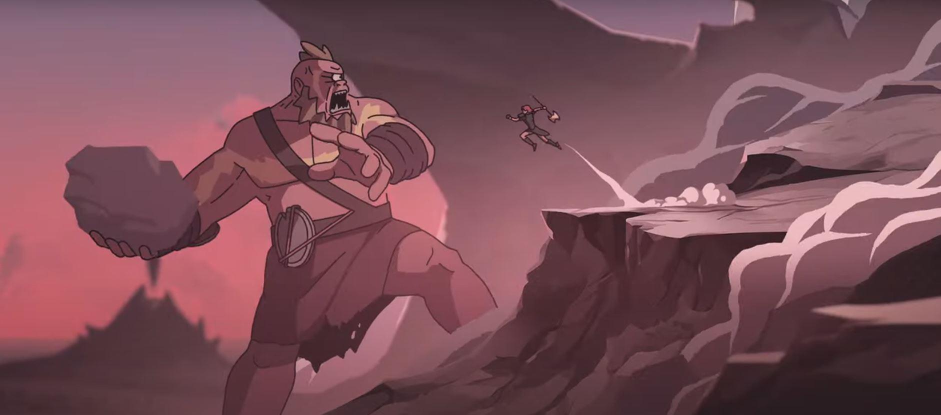 Короткометражка: анимационный трейлер Immortals Fenyx Rising
