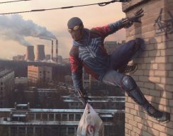 Евгений Зубков представил концепты Северного паука — супергероя изсибирской провинции