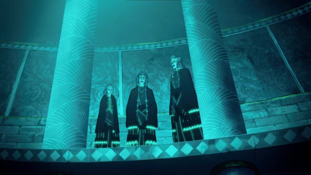 Сериал «Кровь Зевса»: античное фэнтези от создателей Castlevania 6