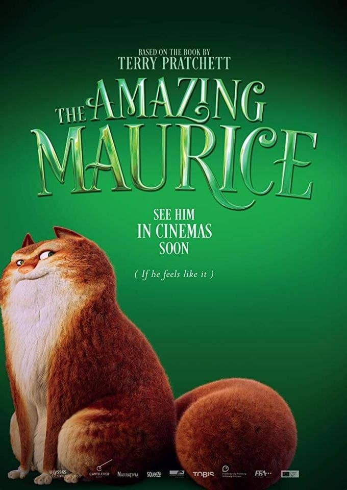 Хью Лори и Эмилия Кларк озвучат персонажей вмультфильме «Изумительный Морис» поПратчетту 1