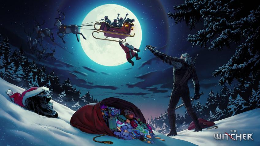 Разработчики поздравляют игроков с Рождеством — собрали праздничные открытки 2