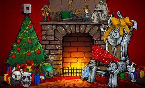 Разработчики поздравляют игроков сРождеством — собрали праздничные открытки