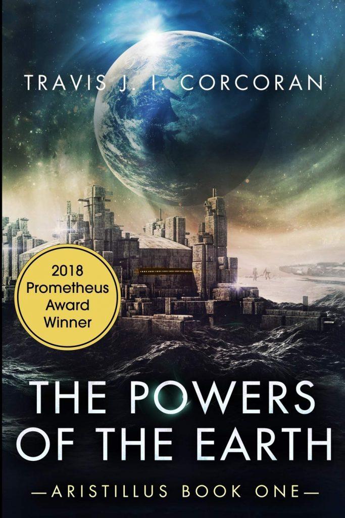 Трэвис Коркоран о своем романе «Державы земные» на вручении премии «Прометей» 2