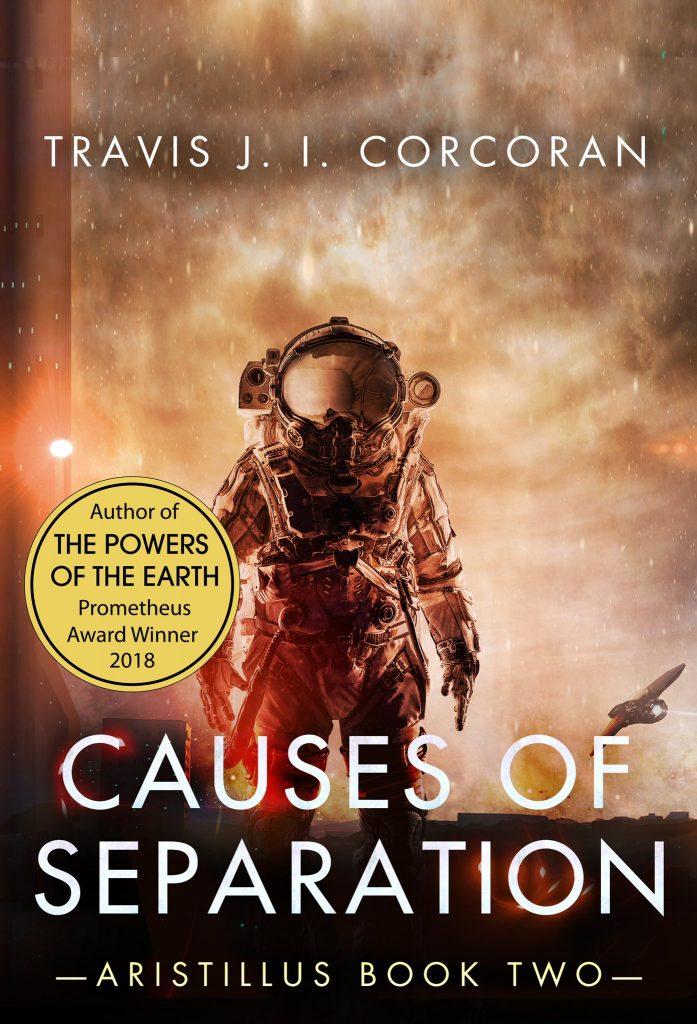 Трэвис Коркоран о своем романе «Державы земные» на вручении премии «Прометей» 3