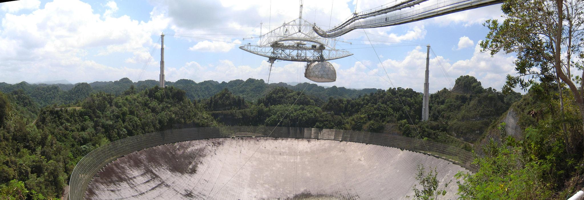 Обсерватория Аресибо окончательно разрушилась