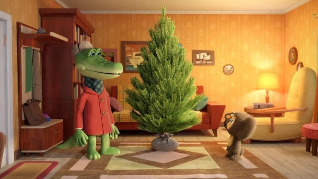 «Союзмультфильм» выпустит новогоднюю короткометражку про Чебурашку и Крокодила Гену 1