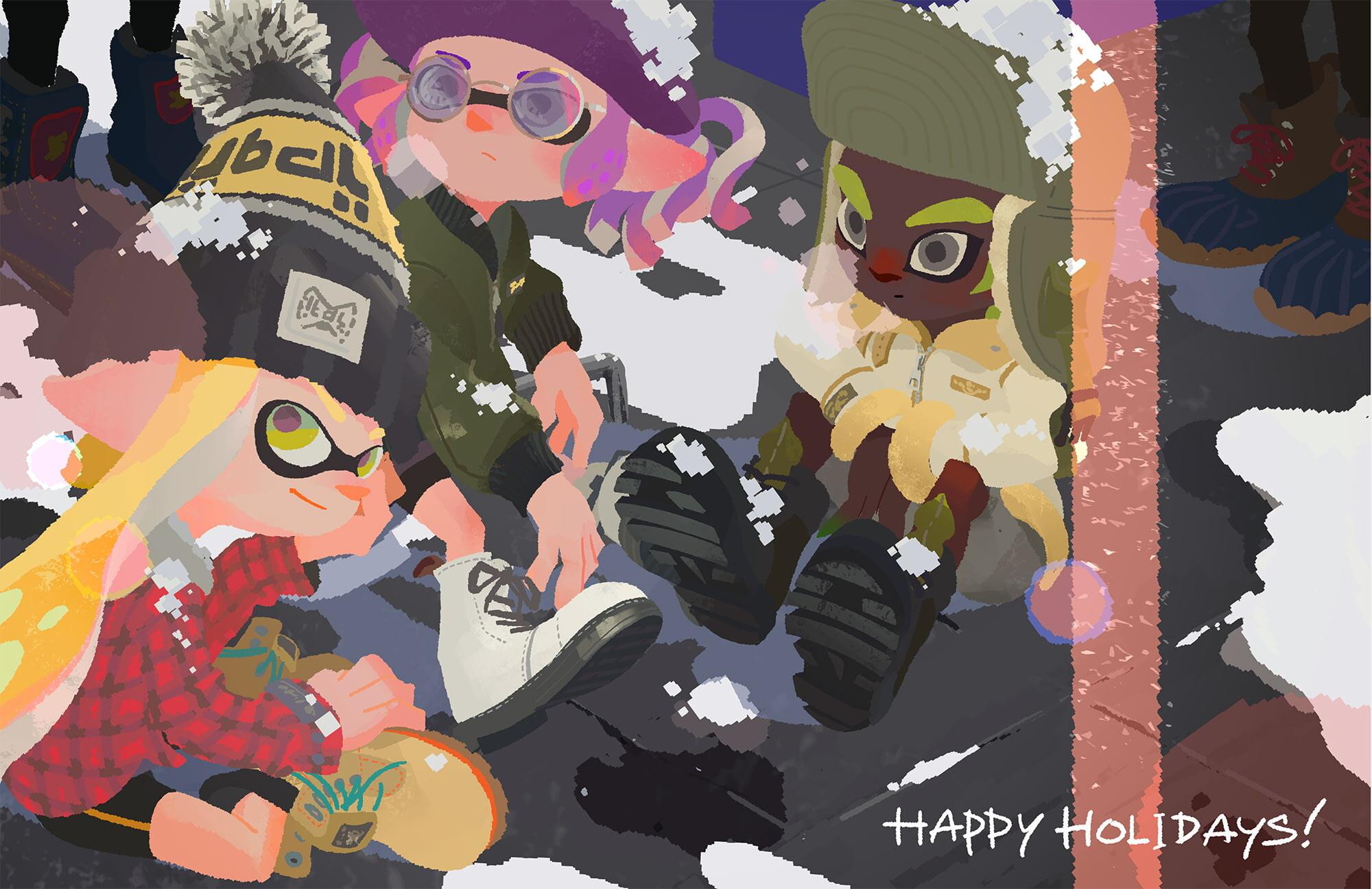 Разработчики поздравляют игроков с Рождеством — собрали праздничные открытки 11