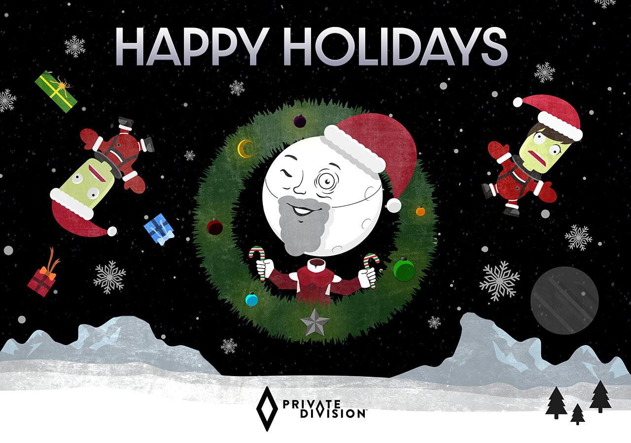Разработчики поздравляют игроков с Рождеством — собрали праздничные открытки 9