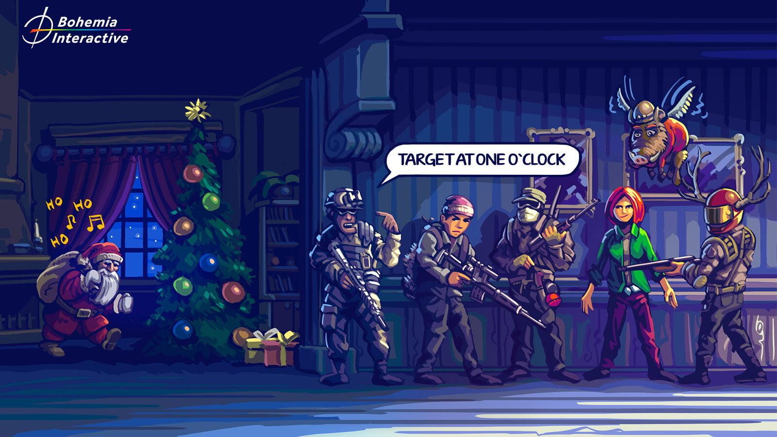 Разработчики поздравляют игроков с Рождеством — собрали праздничные открытки 15