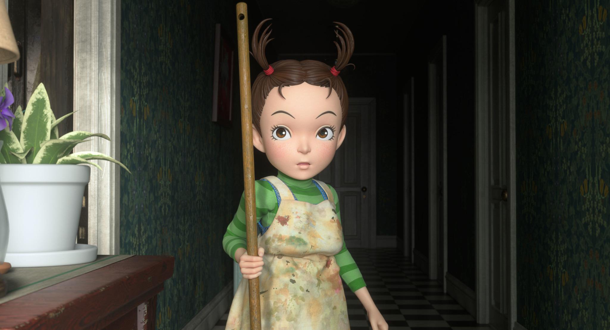Первый трейлер 3DCG-аниме «Ая и ведьма» от Ghibli — в супер-жутком качестве