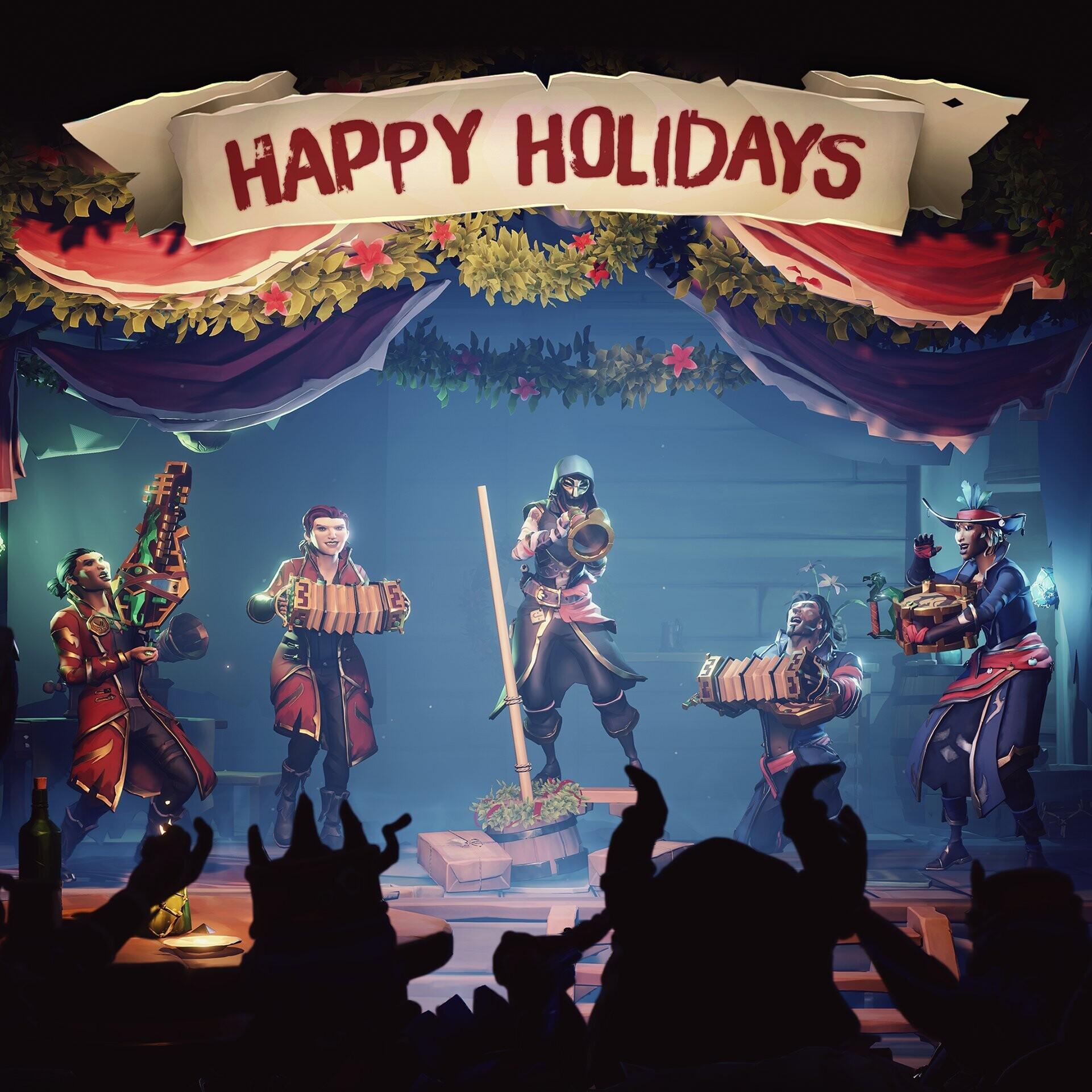 Разработчики поздравляют игроков с Рождеством — собрали праздничные открытки 8
