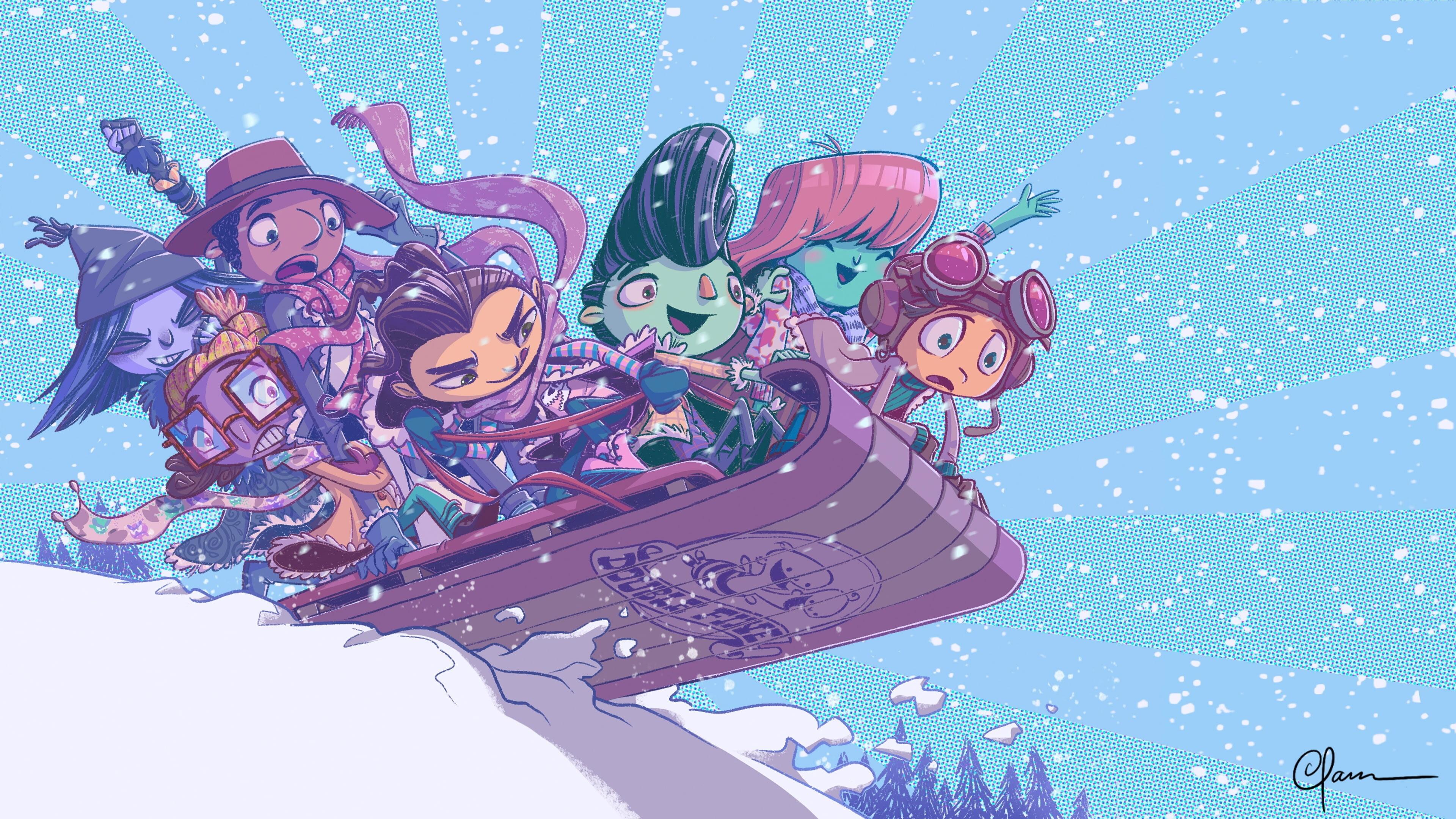 Разработчики поздравляют игроков с Рождеством — собрали праздничные открытки 6
