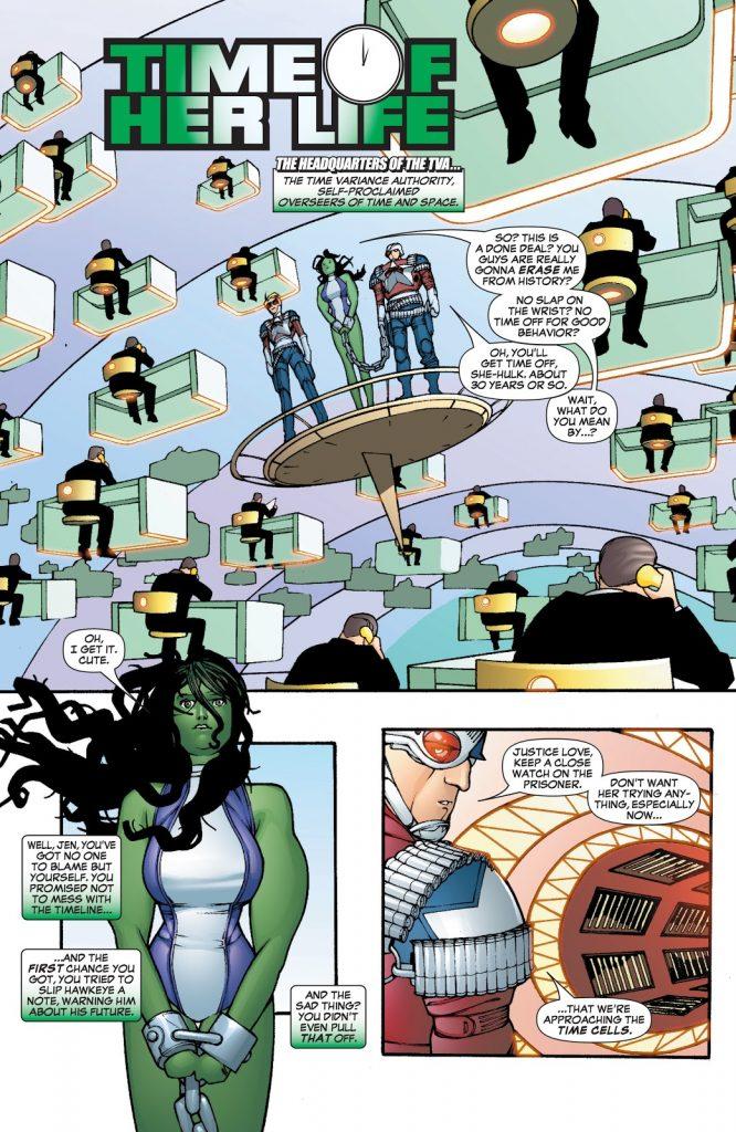 Полиция времени: всё о TVA из комиксов Marvel и сериала «Локи» 4