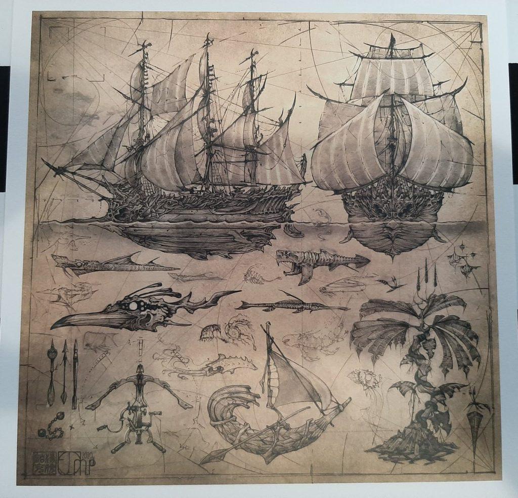 Англоязычные читатели о фэнтези-книге «Костяные корабли» Р. Дж. Баркера 1